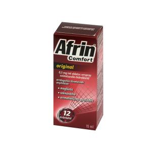 Afrin Comfort original 0,5mg/ml oldatos orrspray 15ml