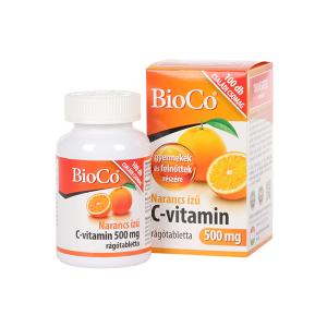 BioCo C-vitamin 500 mg narancs ízű rágótabletta 100x