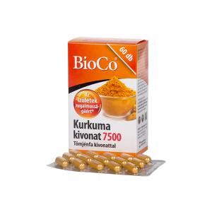 BioCo Kurkuma Tömjénfa kivonat kapszula 60x