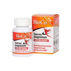 BioCo Szerves Magnézium tabletta 60 db