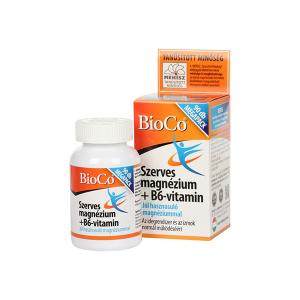 Bioco Szerves Magnezium B6 Tabl. 90X