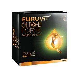 Eurovit Oliva-D Forte 3000NE kapszula 60x