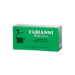Fabianni mályva testsúlycsökkentő tea 20x4g