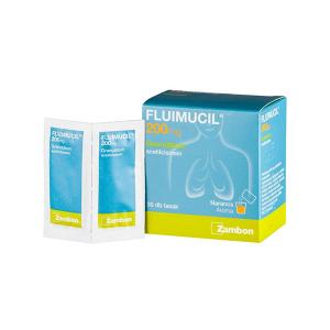 Fluimucil 200mg Granulátum 30x1g