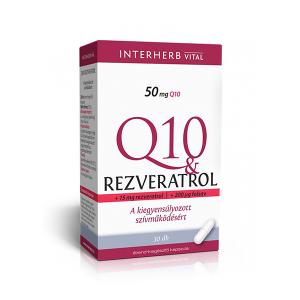 Interherb Q10 Rezveratrol kapszula 30x