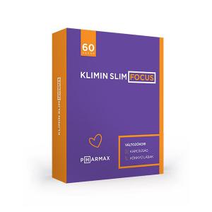 Klimin Slim Focus kapszula 60x