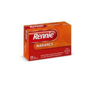 Rennie Narancs Ragótabletta 36x