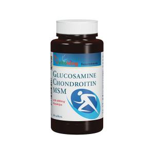Vitaking Glükozamin + Kondroitin + MSM tabletta 60x