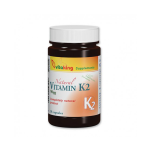 Vitaking K2-vitamin 90mcg kapszula 30x