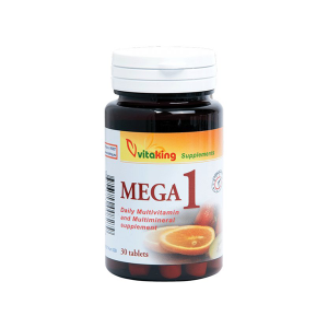 Vitaking Mega-1 multivitamin 30x
