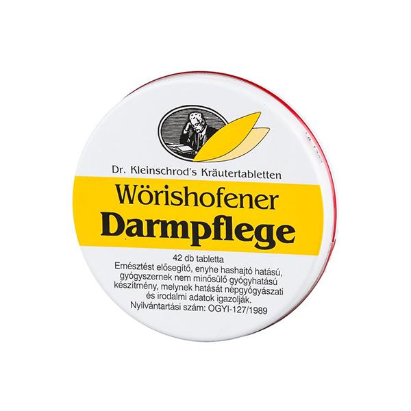 Wörishofener Darmpflege Tabletta 42X