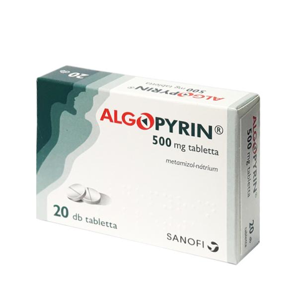 algopyrin tabletta 20x.